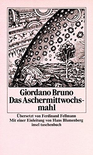 Das Aschermittwochsmahl.: Giordano Bruno