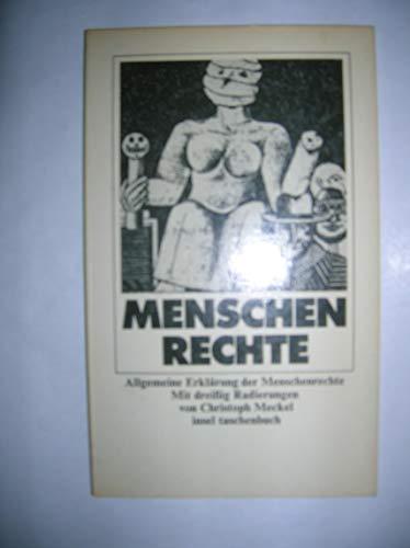 9783458323822: Allgemeine Erklärung der Menschenrechte