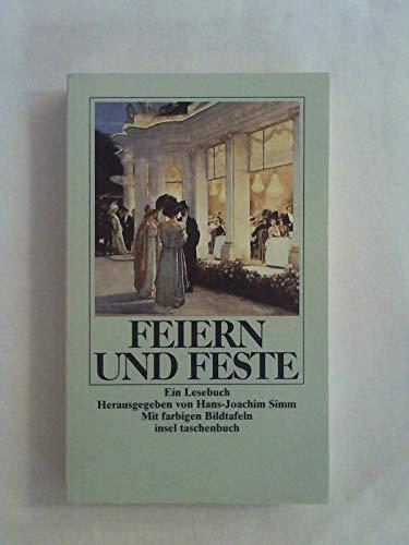 Feiern und Feste. Ein Lesebuch: Brun, Hartmut (Hrsg.)
