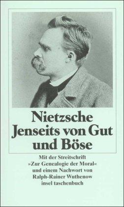 9783458324621: Jenseits von Gut und Böse: Mit der Streitschrift 'Zur Genealogie der Moral'