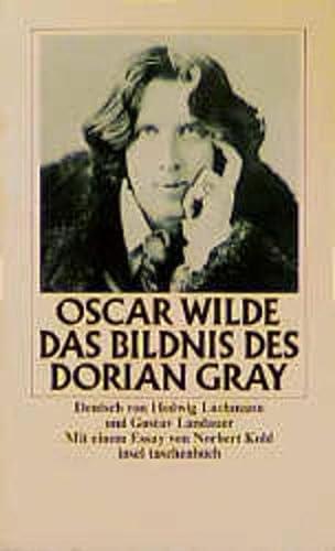 Das Bildnis des Dorian Gray. Dt. von: Wilde, Oscar und