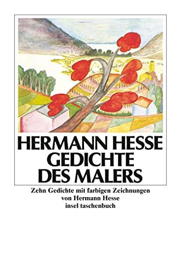 Gedichte Des Malers By Hermann Hesse Insel Verlag