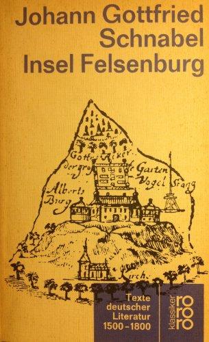 9783458326533: Die Insel Felsenburg. Roman