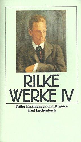 9783458328049: Frühe Erzählungen und Dramen, Bd 4