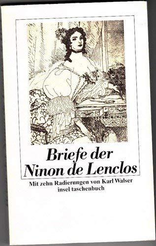 Briefe der Ninon de Lenclos: Lenclos, Ninon de,
