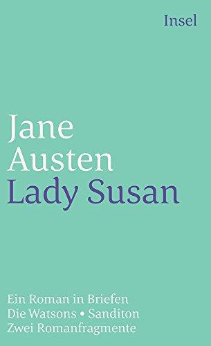 Lady Susan: Ein Roman in Briefen (insel taschenbuch) - Austen, Jane