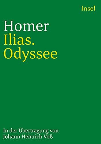 9783458329046: Ilias. Odyssee