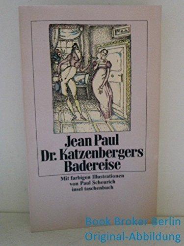 9783458329619: D. Katzenbergers Badereise. Nebst einer Auswahl verbesserter Werkchen