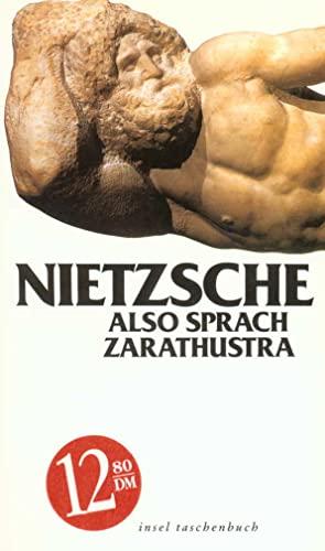 9783458333388: Also sprach Zarathustra