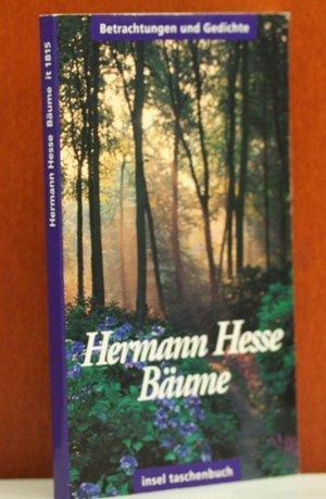 9783458335153: Bäume. Betrachtungen und Gedichte