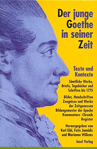 Der junge Goethe in seiner Zeit: Johann Wolfgang von Goethe