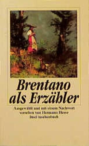 9783458338659: Clemens Brentano als Erzahler
