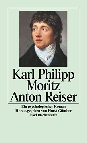 9783458339298: Anton Reiser. Ein psychologischer Roman.