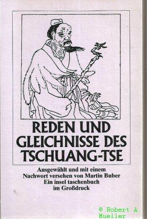 Reden und Gleichnisse des Tschuang-Tse