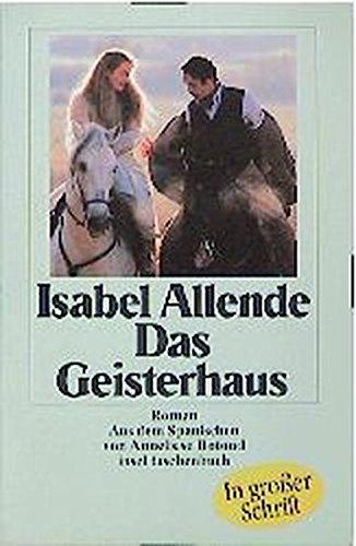9783458340416: Das Geisterhaus. Großdruck.