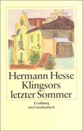 Klingsors letzter Sommer. Großdruck: Hermann Hesse