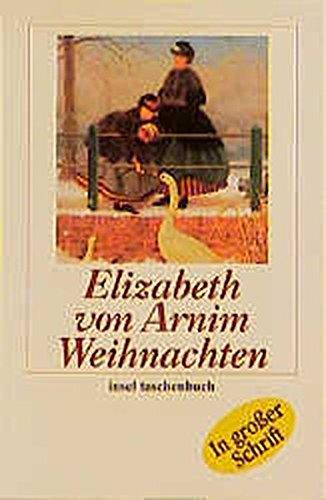 Weihnachten (insel taschenbuch) - von Arnim, Elizabeth
