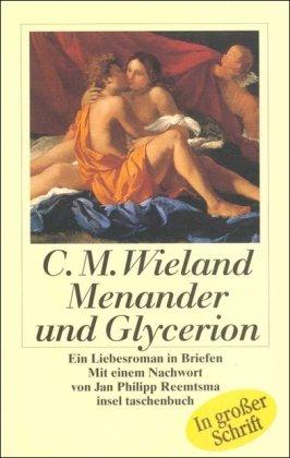 9783458341215: Menander und Glycerion. Großdruck. Ein Liebesroman in Briefen.