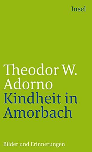 9783458346234: Kindheit in Amorbach: Bilder und Erinnerungen