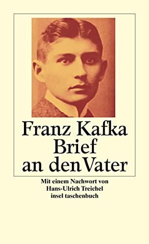 Brief an den Vater (345834649X) by Franz Kafka