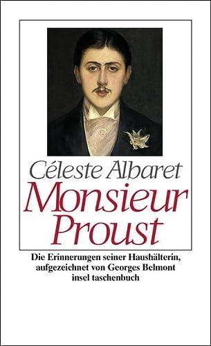 9783458347477: Monsieur Proust: Die Erinnerungen seiner Haush�lterin