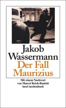 Der Fall Maurizius: Wassermann, Jakob