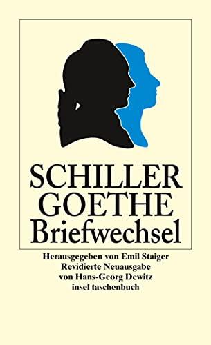 9783458348252: Der Briefwechsel zwischen Schiller und Goethe