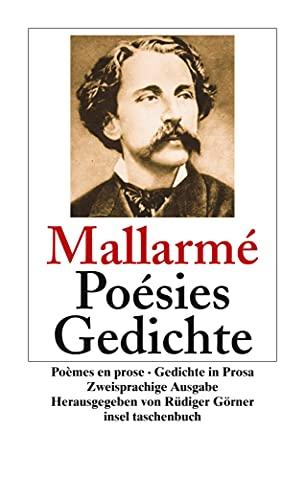 9783458349860: Po�sies. Po�mes en prose. Gedichte. Gedichte in Prosa