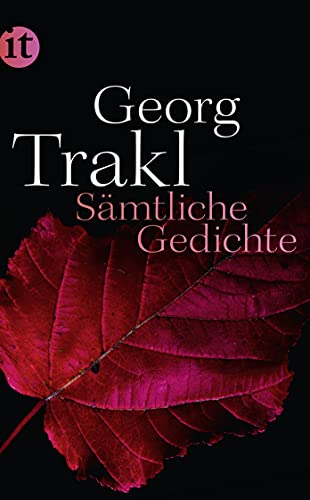 Sämtliche Gedichte: 4337: Trakl, Georg