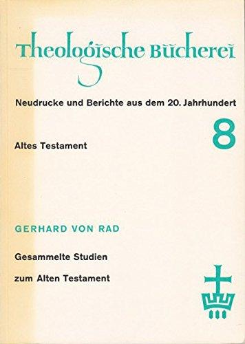 9783459004140: Gesammelte Studien zum Alten Testament I