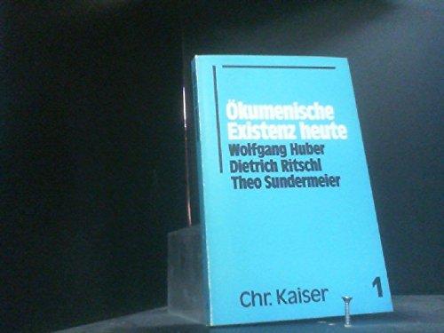 9783459016624: Ökumenische Existenz heute (German Edition)