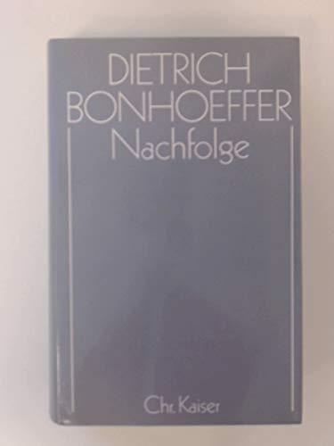 9783459018154: Nachfolge (Dietrich Bonhoeffer Werke) (German Edition)