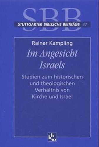 Im Angesicht Israels: Rainer Kampling