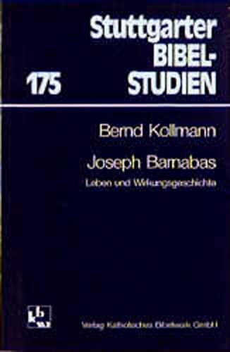 Joseph Barnabas: Leben und Wirkungsgeschichte: Kollmann, Bernd