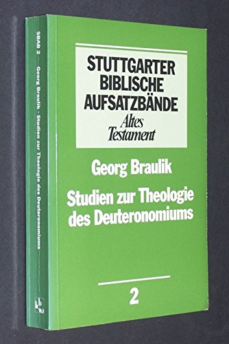 9783460060210: Studien zur Theologie des Deuteronomiums