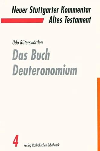 9783460070516: Das Buch Deuteronomium