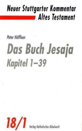 Das Buch Jesaja: Kapitel 1 - 39, Kapitel 40 - 66 (insgesamt 2 Bände). Neuer Stuttgarter ...