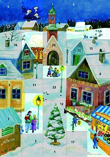 9783460241640: Komm, wir gehen nach Betlehem.Adventskalender: Ein Fensterbild-Adventskalender mit einer Weihnachtsgeschichte