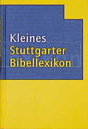 9783460300545: Kleines Stuttgarter Bibellexikon.