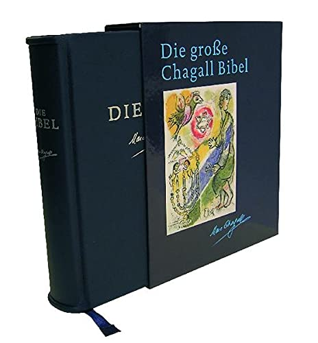 9783460319752: Die große Chagall Bibel. Jubiläumsausgabe: Einheitsübersetzung