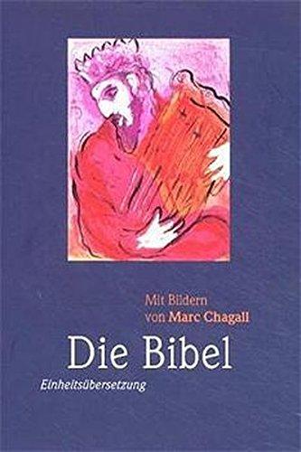 9783460320055: Bibelausgaben, Die Bibel mit Bildern von Marc Chagall (Nr.1400)