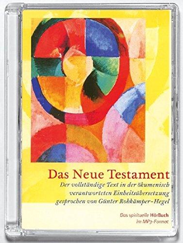 9783460329621: Das neue Testament. Maxi-CD mit MP3-Format: Der vollständige Text der Einheitsübersetzung