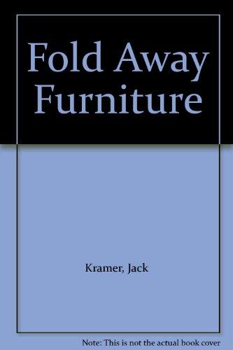 9783461234108: Fold Away Furniture
