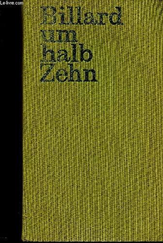 9783462012514: Billard um halbzehn (halb zehn)