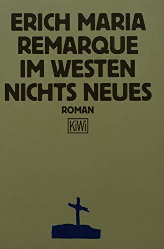 Im Westen nichts Neues. Roman: n/a