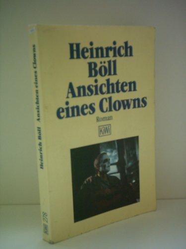 Ansichten eines Clowns.: Böll, Heinrich