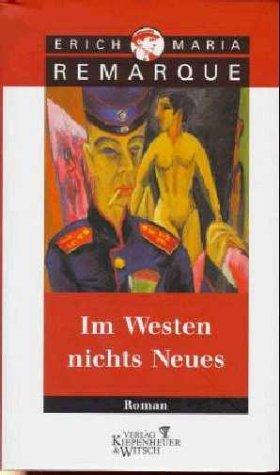 9783462022858: Im Westen nichts Neues.