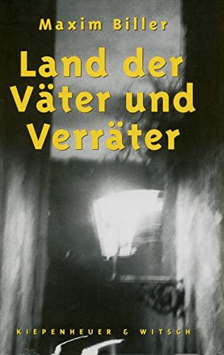 9783462023565: Land der V�ter und Verr�ter: Erz�hlungen