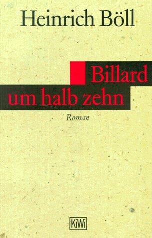 Billard Um Hall Zehn: Boll, Heinrich