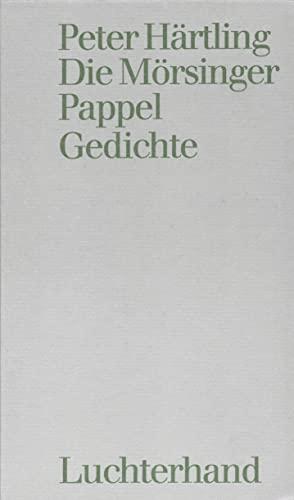 9783462024814: Die M�rsinger Pappel